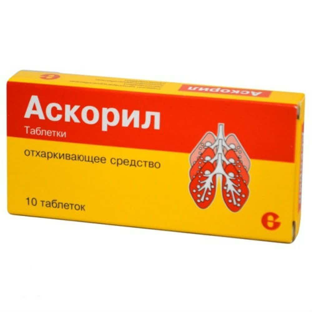 Аскорил таблетки