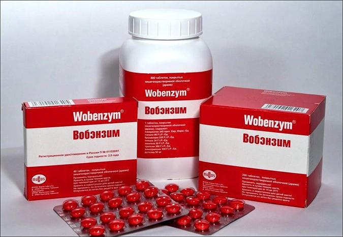 Вобэнзим в таблетках