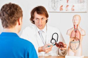 Необходимо как можно быстрее обратиться к врачу за лечением