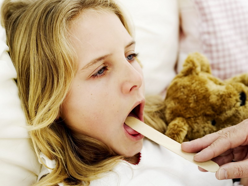 Ларингоспазм у ребенка