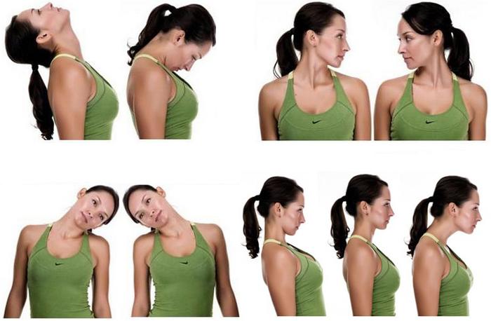 Упражнения для лечения шейного остеохондроза