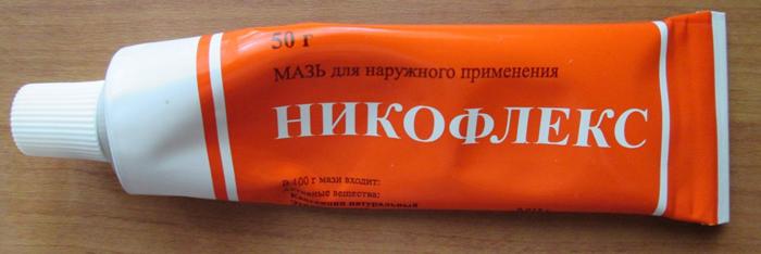 Туба с мазью Никофлекс (стандартный объем - 50 грамм)