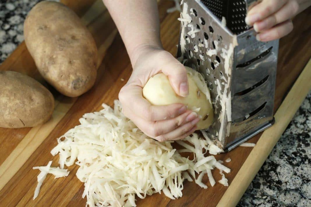 Как сделать картофельный компресс от кашля?