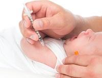 Вакцинация младенца