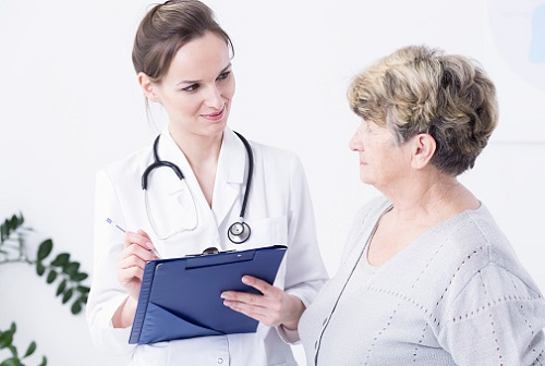 Пациентка у инфекциониста