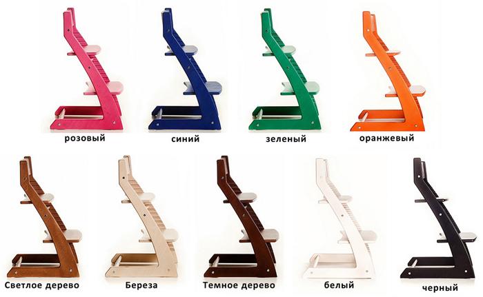 Цветовые схемы стула Котокота