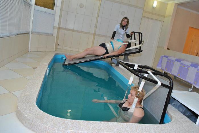 Лечебная ванна при грыже позвоночника