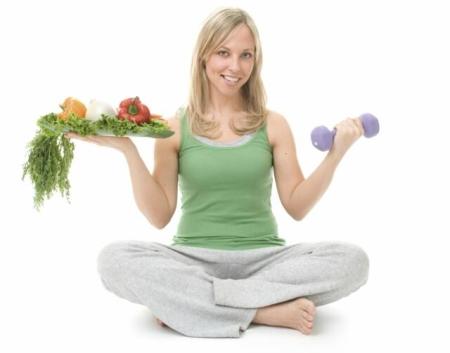 Остеохондроз и ВСД лечится с помощью диеты и физкультуры