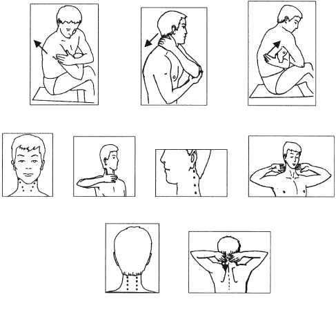 Правила самомассажа шеи и рук