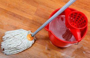 одним из простых методов дезинфекции является влажная уборка