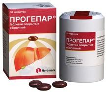 Лекарственный препарат Прогепар