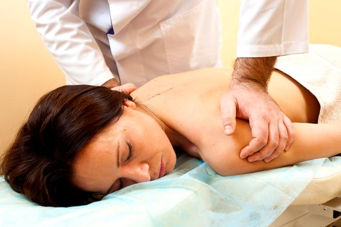 Мануальная терапия плечевого пояса при остеохондрозе