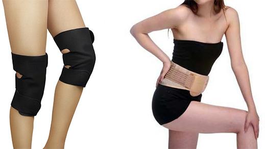 Турмалиновый пояс для спины и ног