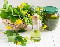 Настой чистотела и кукурузных листьев