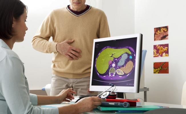 Пациент с диагнозом гепатит
