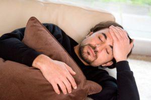 Заболевание сопровождатся усталостью и общим плохим состоянием