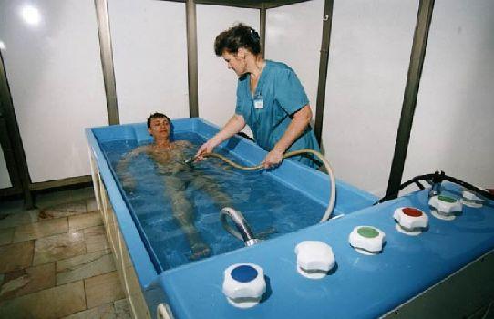 Лечебные ванны в условиях санаторного лечения