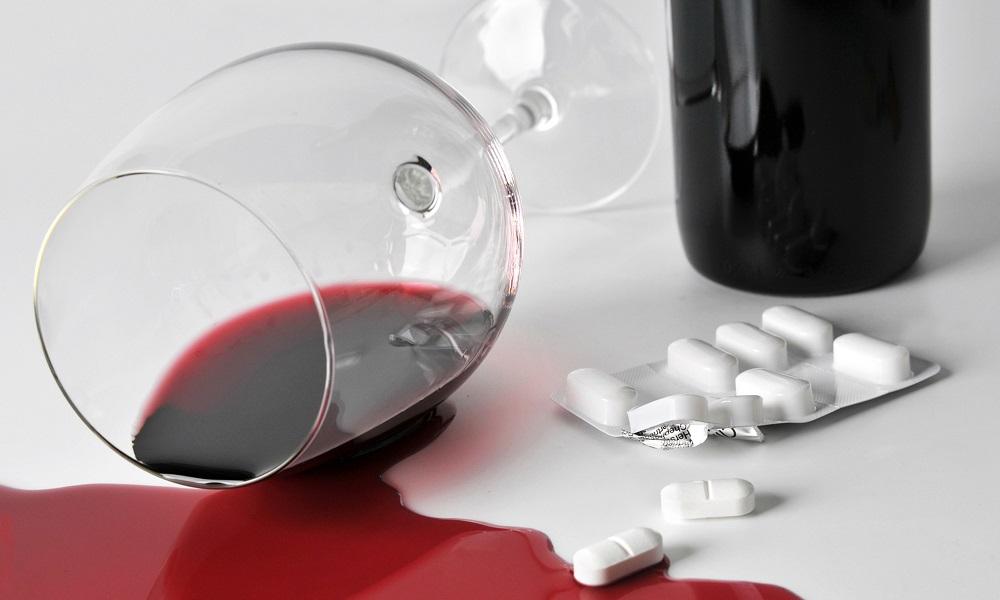 Алкоголь с лекарством