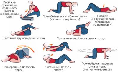 Упражнения на растяжку при сколиозе