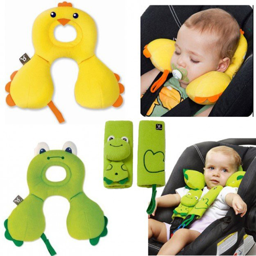 Детские подушки-бабочки для автомобиля