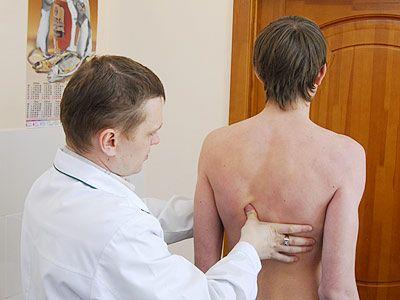 Первичная диагностика кифосколиоза