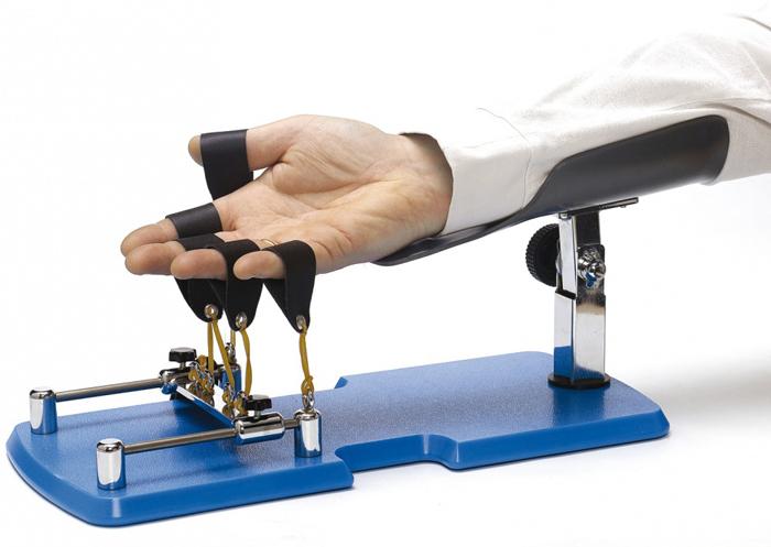 Устройство для восстановления функций сухожилий и мышц пальцев рук