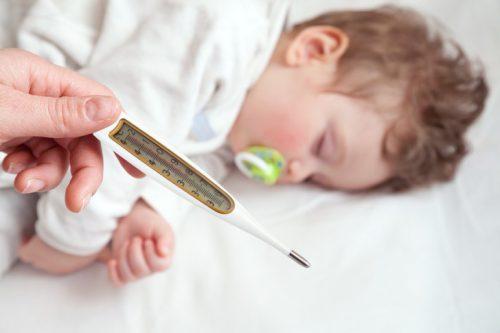 Термометр и ребенок