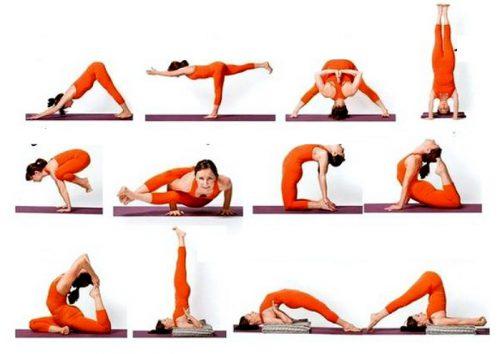 Йога при грудном сколиозе
