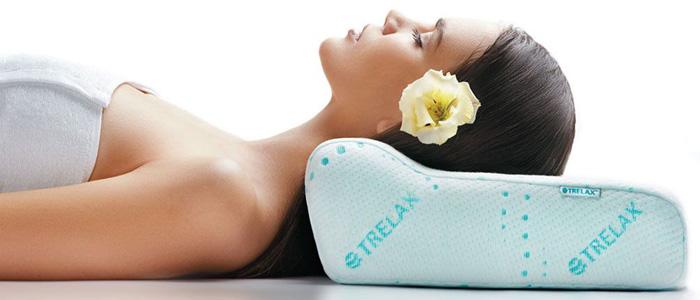 Подушка для лечения остеохондроза с эффектом памяти