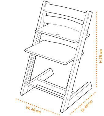 Схема стула Конек-Горбунок для самостоятельного изготовления