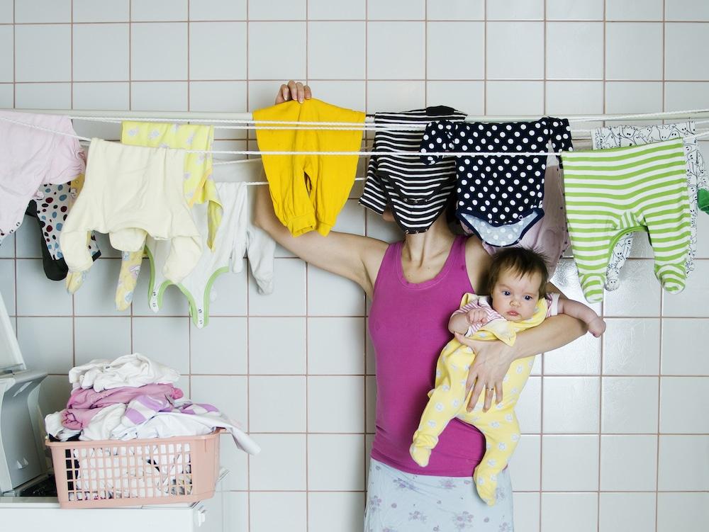 Почему сушить белье в квартире вредно?
