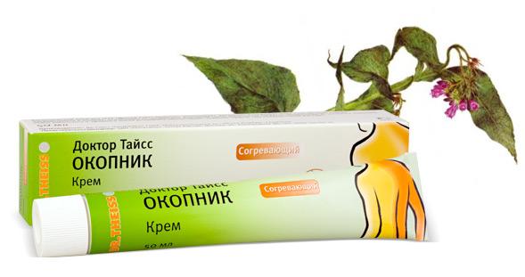 Мазь Доктор Тайсс ОКОПНИК для лечения грыж спины
