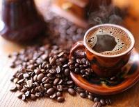 Кофе с зернами кофе