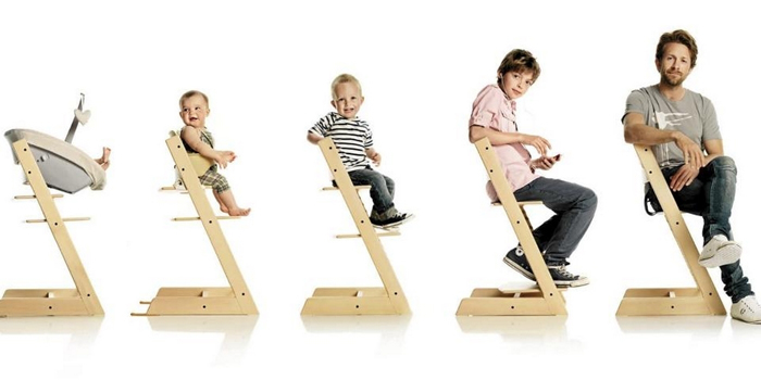 Растущий стул Конек-Горбунок настраивается под любой рост и комплекцию пользователя