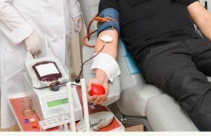 Забор донорской крови