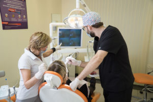 Посещение стоматологического кабинета