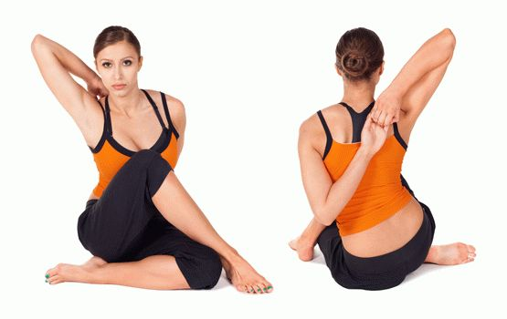 Подобные упражнения при артрозе плеча лучше не использовать