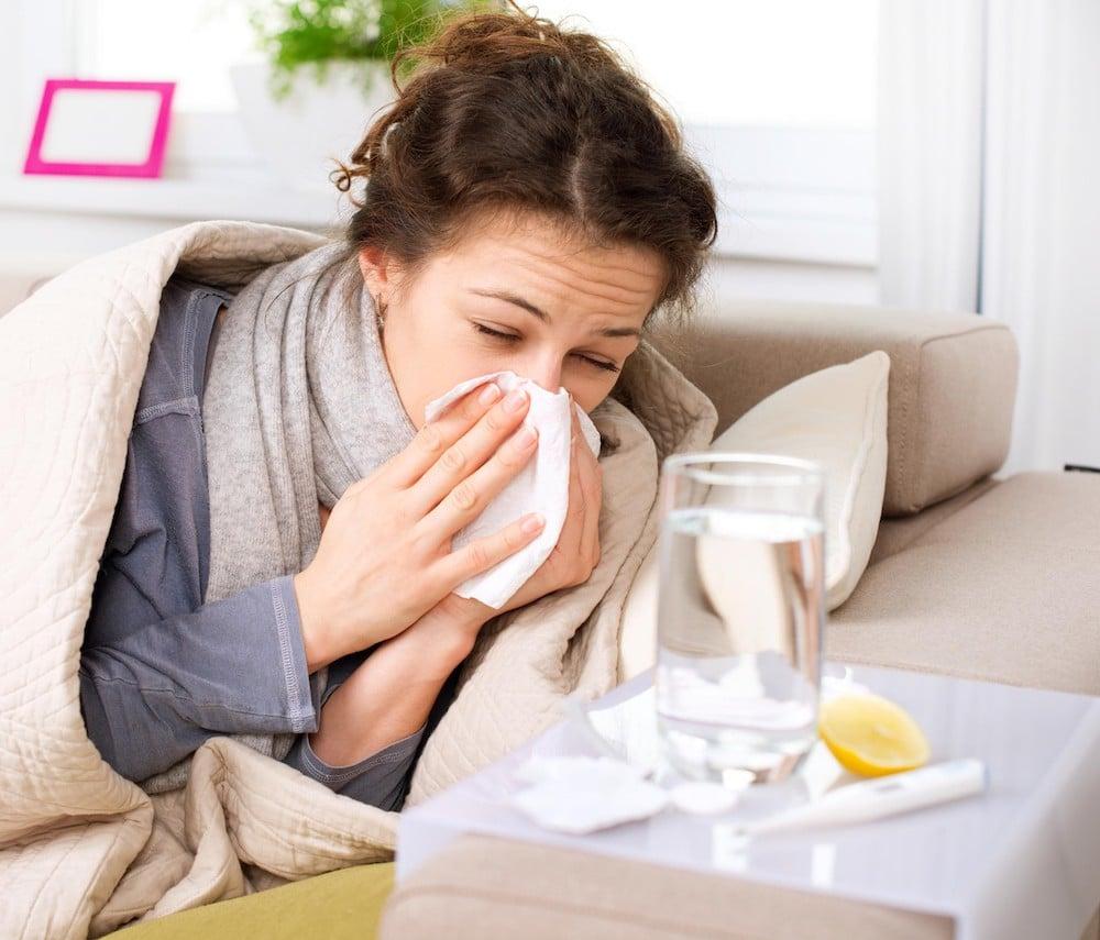 Из-за гриппа может снижаться память