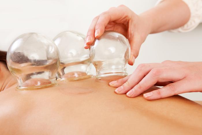 Баночный массаж при грудном остеохондрозе