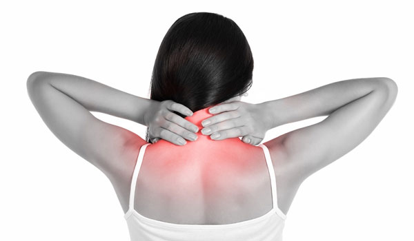 Локализация болей при подвывихе шейного позвонка