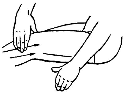 Техника массажа колена при артрозе