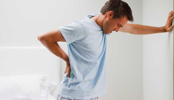 Обострение поясничного остеохондроза