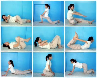 Комплекс ЛФК при грудном остеохондрозе