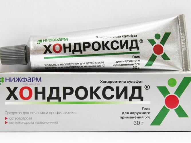 Мазь для лечения грыжи позвоночника Хондроксид