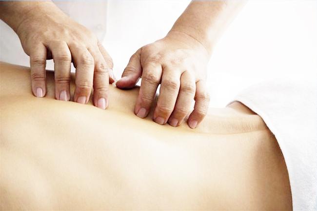 Классический массаж при протрузии