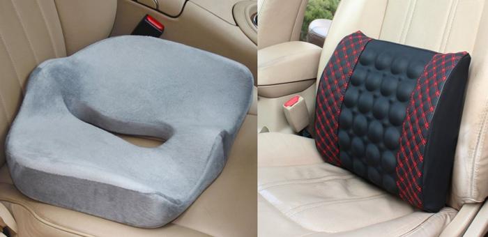 Ортопедические сиденья для автомобиля