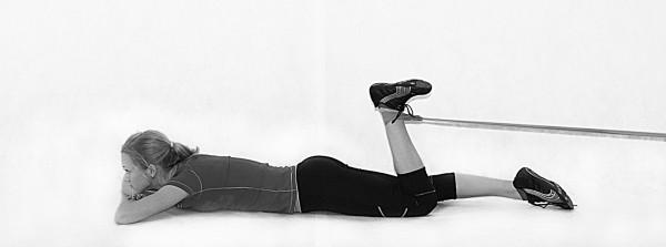 Разминка связочного аппарата колена