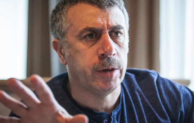 Педиатр Евгений Комаровский