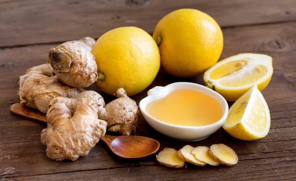 Лимон с имбирем