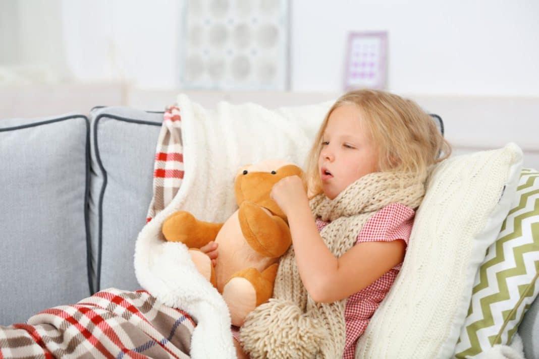 Левостороннее воспаление легких у детей